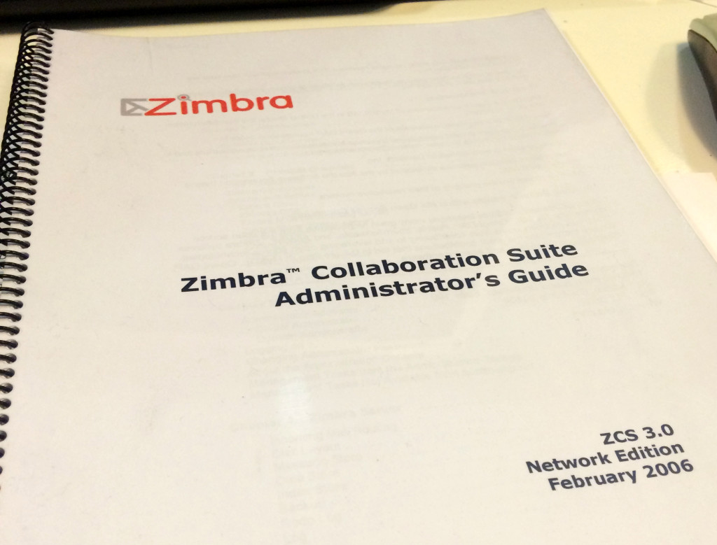 Manual Zimbra 3
