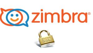 Zimbra SSL SHA256