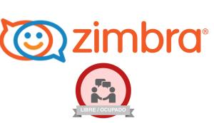 Zimbra logo agenda free/busy libre/ocupado