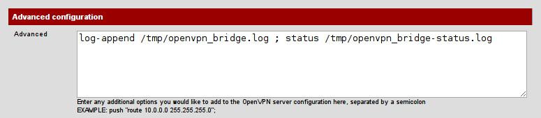 Configuración Servidor OpenVPN (2)