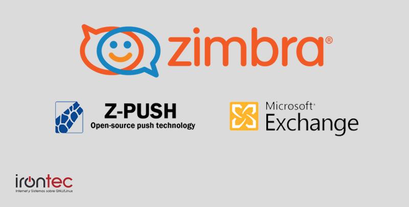 Exchange Zimbra Z-push