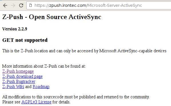 z-push-web-zimbra