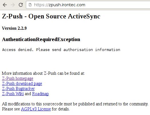 z-push-web