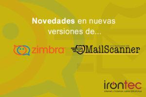Novedades Zimbra y Mailscanner