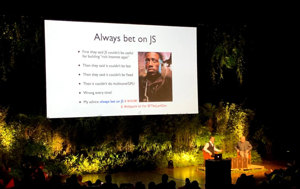 dotJS - Always bet on JS