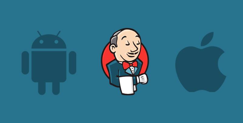 instalacion y configuración de Jenkins en iOS y Android.