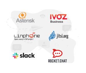 logos tecnologías comunicación