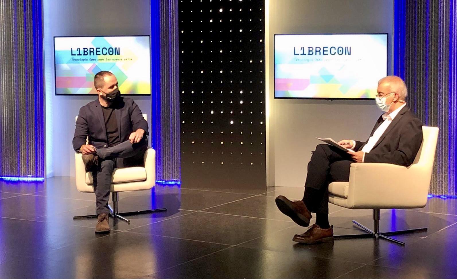 Asier Gezuraga en Librecon 2020